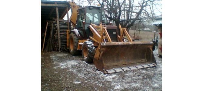 Vand buldoexcavator Case 580 Super K