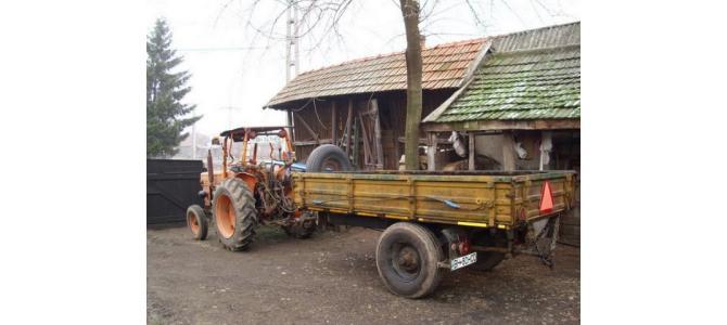 De vanzare Tractor UTB V445, plus masini agricole..