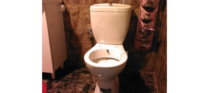 Vand vase de WC cu BIDEU incorporat in acelasi obiect sanitar