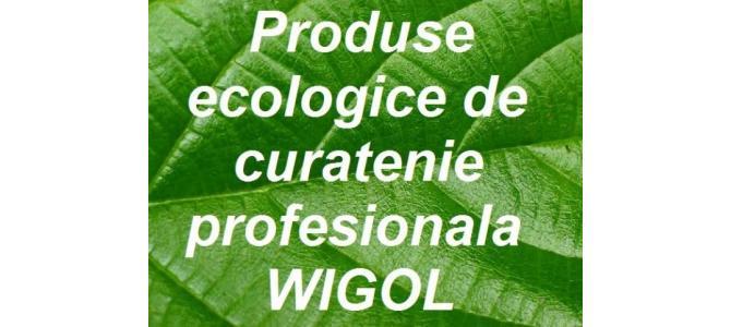 Produse ecologice de curatenie profesionala Wigol
