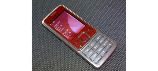Vand:Nokia 6300 RED