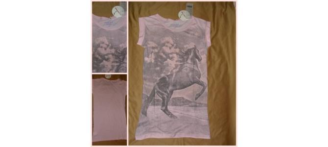 Vand Tricou Horse Image