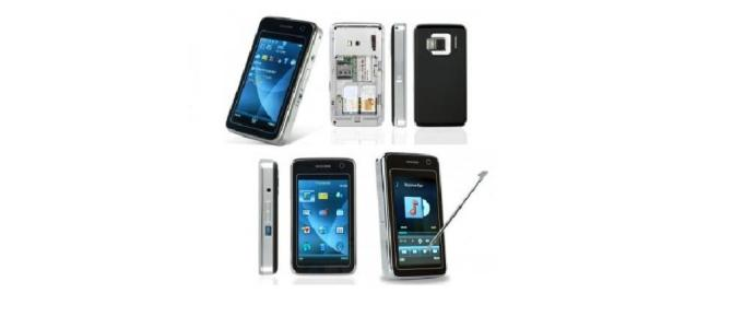Vand Telefon Dual SIM, 3 Inch Touchscreen. Pret: 380ron    color:black/pink