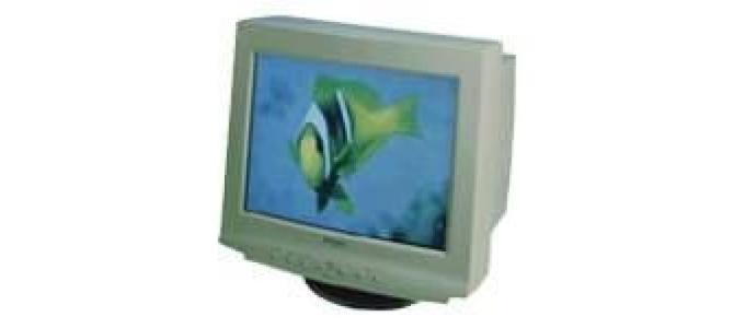 vand monitor crt 17