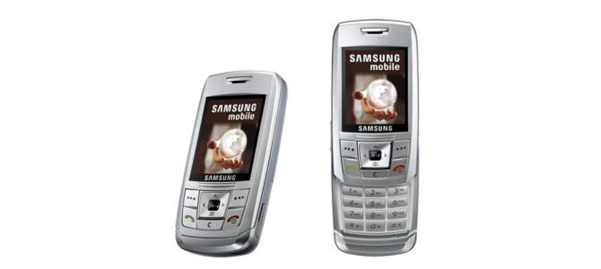 CUMPAR Samsung E250 defect.