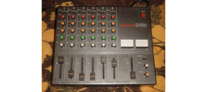 Tascam Pro Mixer M-06ST, 6 canale. 120 Euro