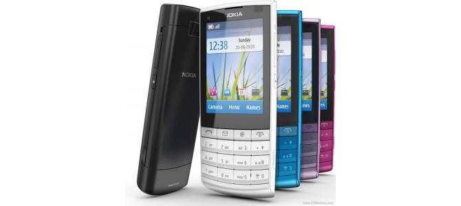 Vand nokia x3 02 touch and type