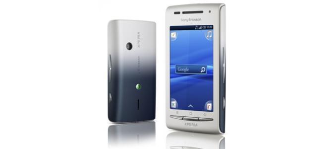 Vand urgent Sony Ericsson Xperia X8