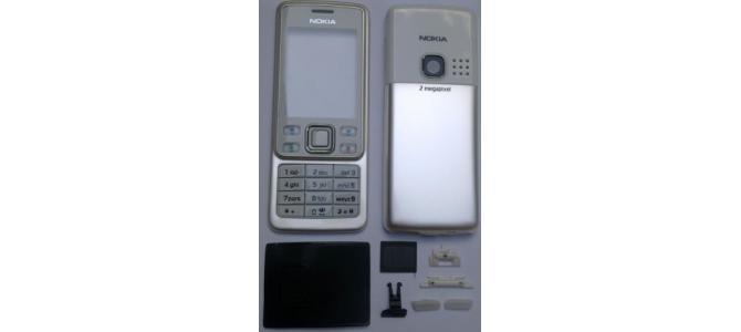 Carcasa Nokia 6300 White ( Alba ) ORIGINALA COMPLETA