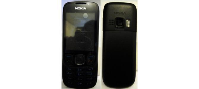 Carcasa Nokia 6303 Black ( Neagra ) ORIGINALA COMPLETA