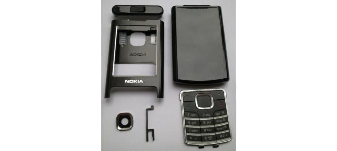 Carcasa Nokia 6500 Classic Black ( Neagra ) ORIGINALA COMPLETA