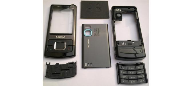 Carcasa Nokia 6500 Slide Black ( Neagra ) ORIGINALA COMPLETA