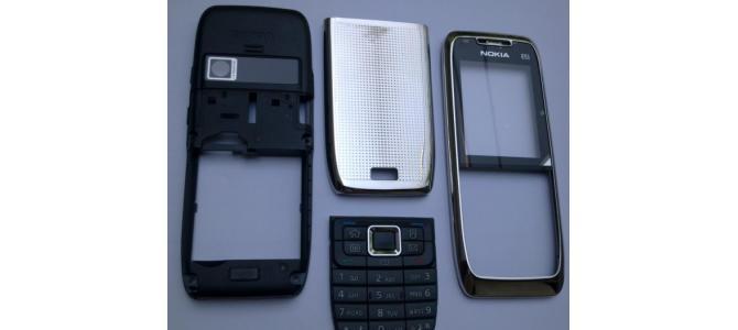 Carcasa Nokia E51 Silver ( Argintie ) ORIGINALA COMPLETA