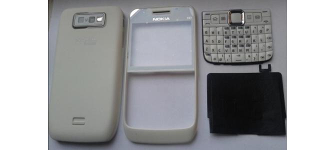 Carcasa Nokia E63 White ( Alba ) ORIGINALA COMPLETA