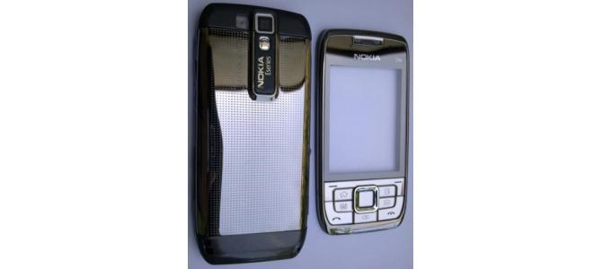 Carcasa Nokia E66 Grey ( Gri ) ORIGINALA COMPLETA