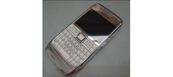 Carcasa Nokia E71 White ( Alba ) ORIGINALA COMPLETA