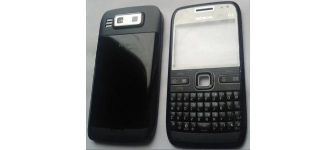 Carcasa Nokia E72 Black ( Neagra ) ORIGINALA COMPLETA