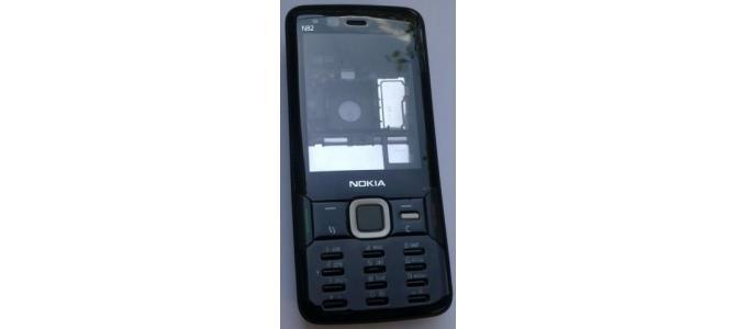 Carcasa Nokia N82 Black ( Neagra ) ORIGINALA COMPLETA