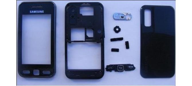 Carcasa Samsung S5230 Star Black ( Neagra ) ORIGINALA COMPLETA