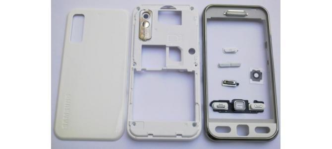 Carcasa Samsung S5230 Star White ( Alba ) ORIGINALA COMPLETA