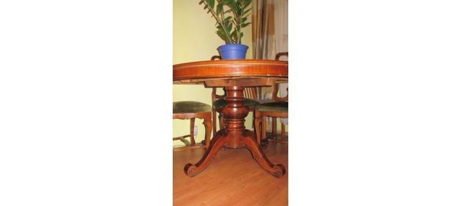 Vand masa de sufragerie cu 5 scaune