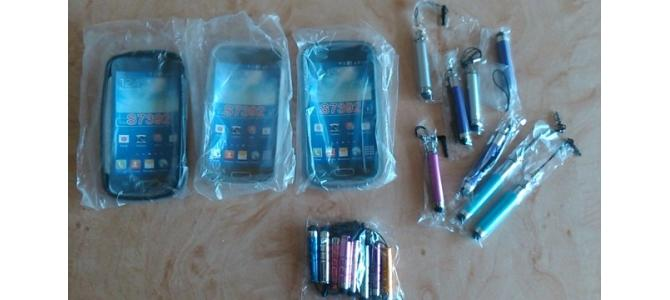 Husa silicon gel Samsung Trend Lite+folie+creion stylus.Pret 15-Ron