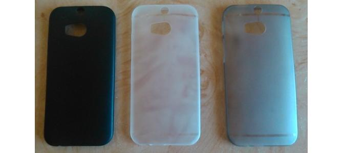 Husa-plastic 3-mm-HTC ONE  M8-NOU+folie -15-Ron
