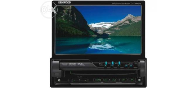 """DVD auto Kenwood KVT 522 dvd 7"""" usb , touch"""