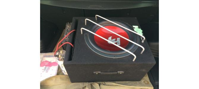 Tub de bass Raptor 500 W