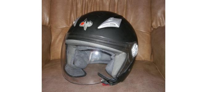 casca moto open face marca one