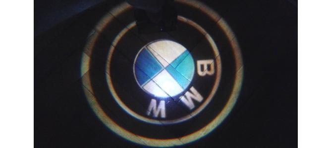 Logo Holograma BMW - wireless