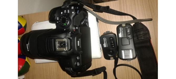 Vand Canon 700D , 18-55 IS STM, 2000 cadre ( fara schimburi )