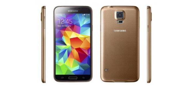 Samsung Galaxy S5 Gold NOU Garantie -Factura