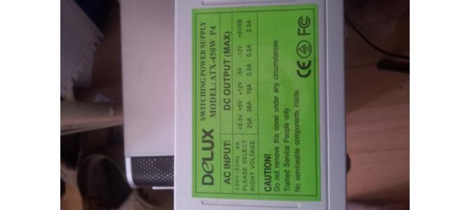 Vand sursa PC delux- 450W 30 Ron