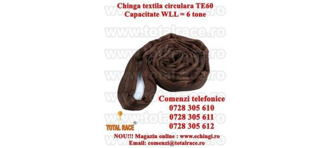 Chinga ridicare circulara 6 tone 2 metri, productie UTX Olanda