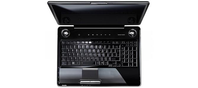 "* Laptop Toshiba p300d - Dual core - 17,1"" - ATI 3470 x2 Hybrid - *"