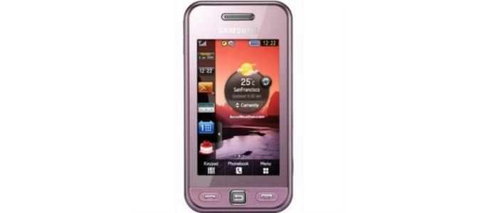 Vand Telefon Samsung S5230
