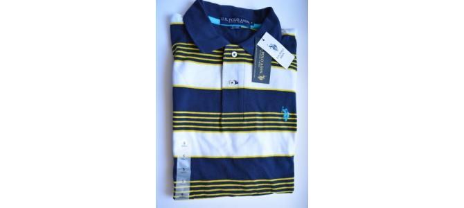 Tricou pentru barbati U.S. POLO ASSN. 116789ZS Original USA