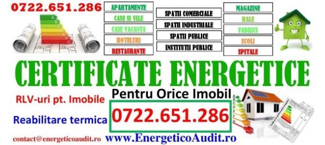 Certificate de Performanta Energetica Pt. Cladiri