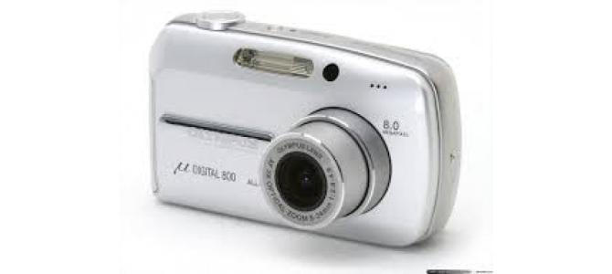 Vand aparat foto Olimpus digital 800.