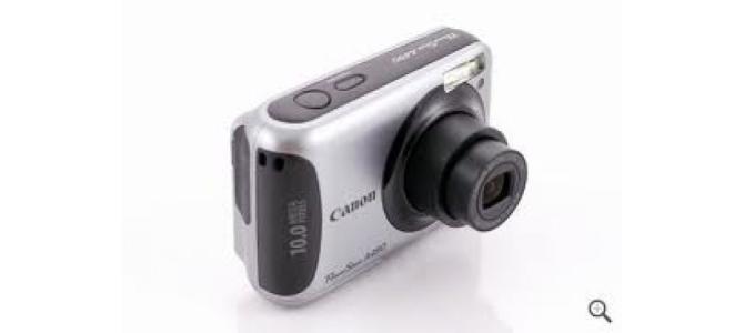 Vand aparat foto Canon powershot a490.