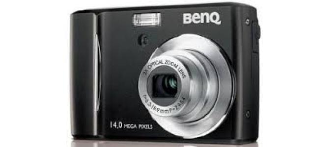 Vand aparat foto Benq dc e1465.