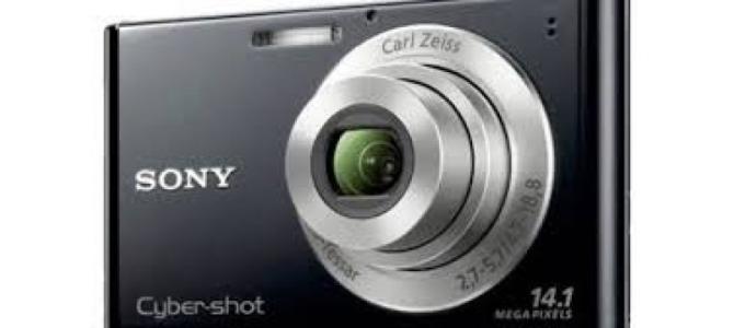 Vand aparat foto Sony w330.