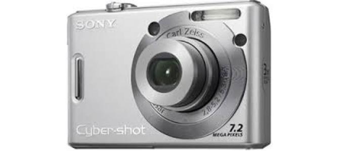 Vand aparat foto Sony dsc-w35.