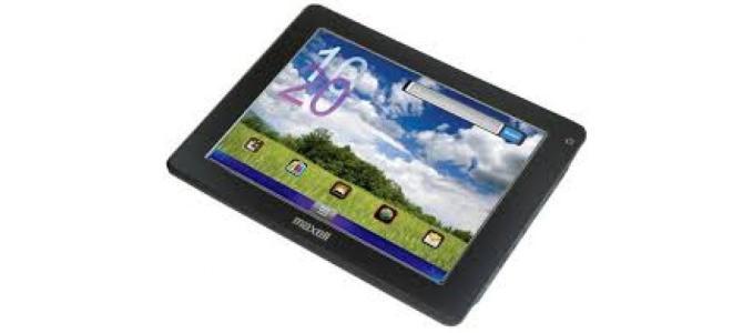 Vand tableta Maxell 201201j.