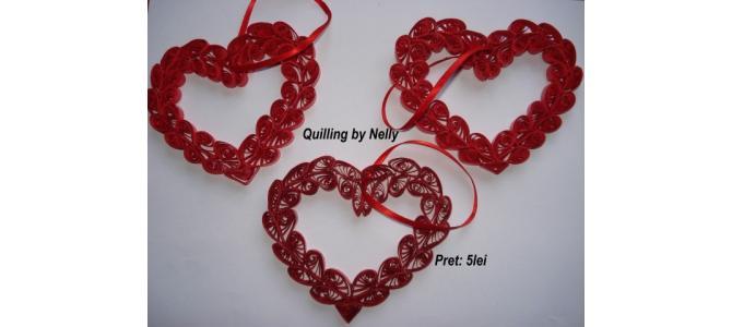 Quilling de Valentines Day