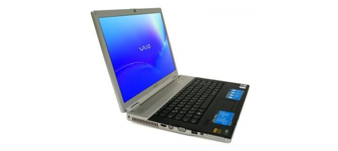 * Laptop Sony vaio - Blu-ray - core 2 duo - *