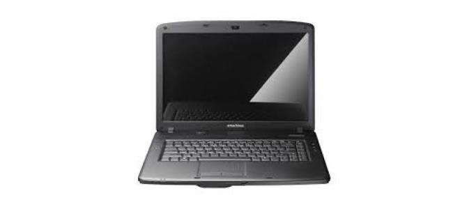 Vand laptop Emachines e 520.