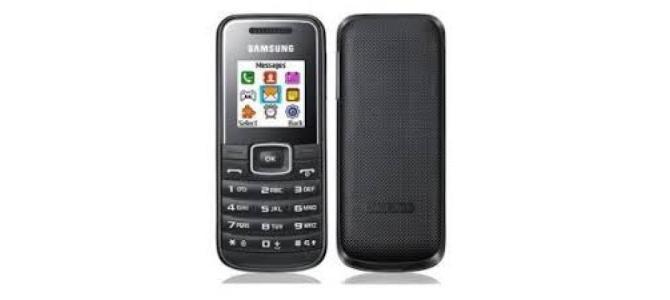 Vand telefon Samsung e1050.