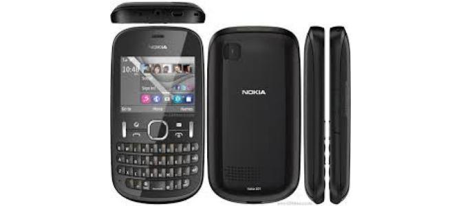 Vand telefon Nokia 201.